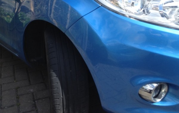 Wheel Arch Paint Repair