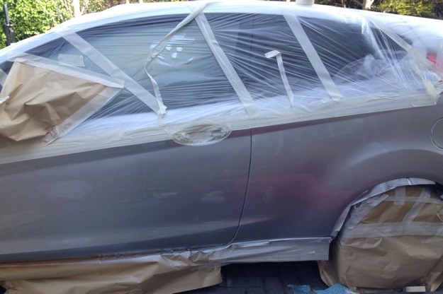 car paint and bodywork repair