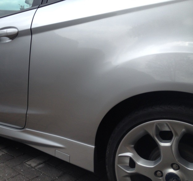 Wheel Arch Repaired